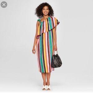 Who what wear stripe dress